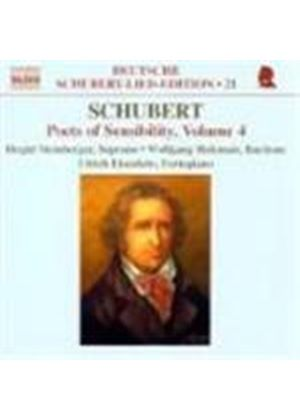 Schubert: Poets of Sensibility, Vol 4