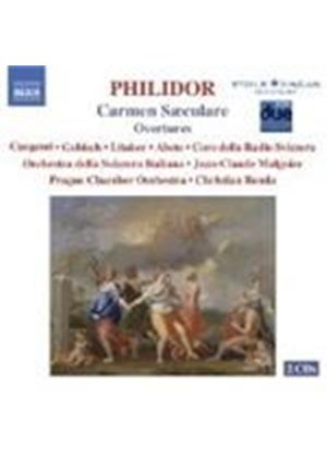 Francois-Andre Danican Philidor - Carmen Saeculare (Benda, Prague CO, Cangemi) (Music CD)