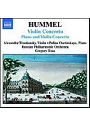 Johann Nepomuk Hummel - Violin Concerto, Piano And Violin Concerto (Rose) (Music CD)
