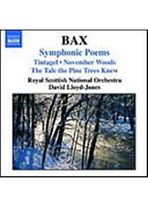 Arnold Bax - Symphonic Poems (Lloyd-Jones, RSNO) (Music CD)