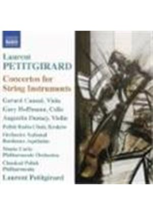 Petitgirard: Cello Concerto; Dialogue for Viola and Orchestra; Le legendaire