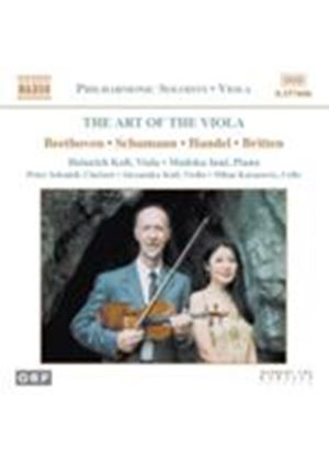 (The) Art of the Viola (Music CD)