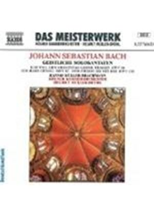 Bach: Cantatas Nos 56, 82 and 158