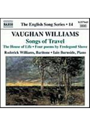 Ralph Vaughan Williams - Songs Of Travel, The House Of Life (Williams, Burnside) (Music CD)