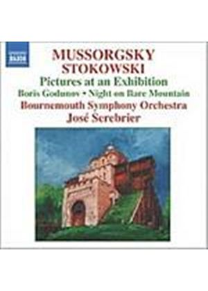 Mussorgsky/Stokowski - Pictures At An Exhibition (Serebrier, Bournemouth SO) (Music CD)