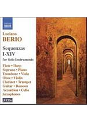 Luciano Berio - Sequenzas I - XIV For Solo Instruments (Music CD)
