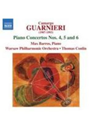 Guarnieri: Piano Concertos No.4, 5 & 6 (Music CD)