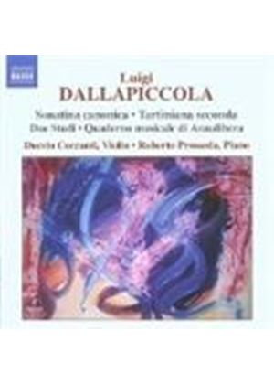 Dallapiccola: Complete Works for Violin and Piano