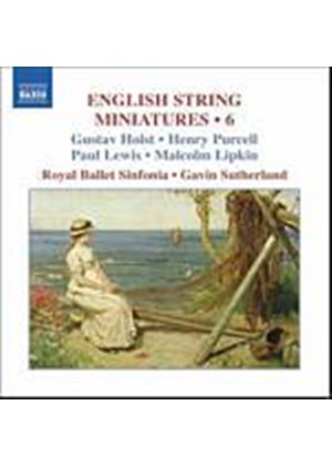 Holst/Purcell/Lewis/Lipkin - English String Miniatures 6 (Sutherland, Royal Ballet Sinf.) (Music CD)