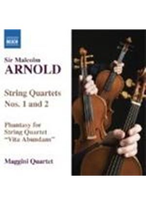 Malcolm Arnold - String Quartets Nos. 1 And 2 (Maggini Quartet) (Music CD)