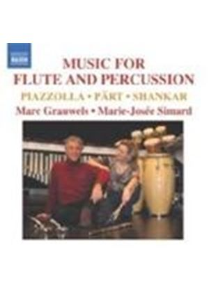 Marc Grauwels - Music for Flute and Percussion