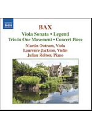 Arnold Bax - Viola Sonata, Legend (Outram, Rolton) (Music CD)