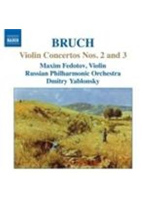 Bruch: Violin Concertos Nos 2 & 3 (Music CD)