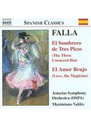 Manuel De Falla - El Sombrero De Tres Picos (The Three Cornered Hat) (Valdes) (Music CD)