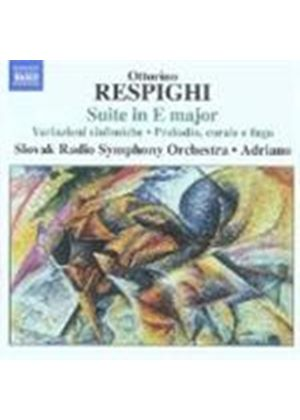 Respighi: Early Orchestral Works