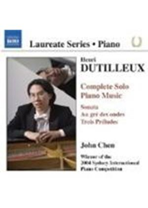 Dutilleux: Complete Piano Music