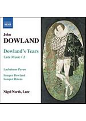 John Dowland - Dowlands Tears: Lute Music Vol. 2 (North) (Music CD)