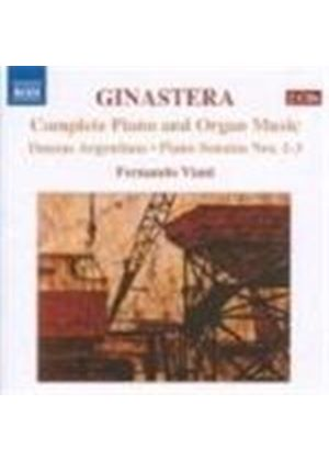 Ginastera: (Complete) Piano and Organ Music