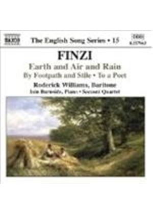Finzi: Earth and Air and Rain; To a Poet; By Footpath and Stile