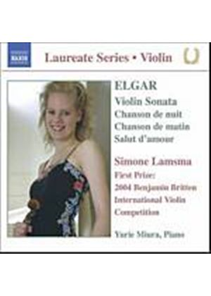 Edward Elgar - Violin Recital (Lamsma, Miura) (Music CD)