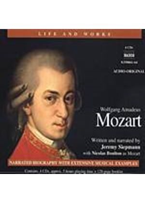 Jeremy Siepmann - Mozart: Life And Works (4CD + Book) (Music CD)
