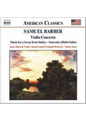 Samuel Barber - Orchestral Works Vol. 3: Souvenirs (RSNO, Alsop, Buswell) (Music CD)