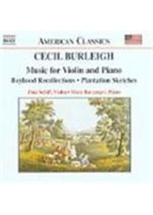 Burleigh: Works for Violin and Piano