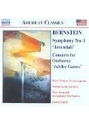 Bernstein: Symphony No 1; Concerto for Orchestra, 'Jubilee Games'