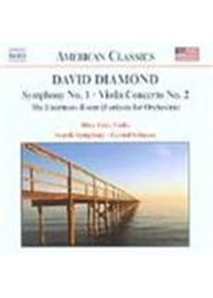 Diamond: Symphony No 1; Violin Concerto
