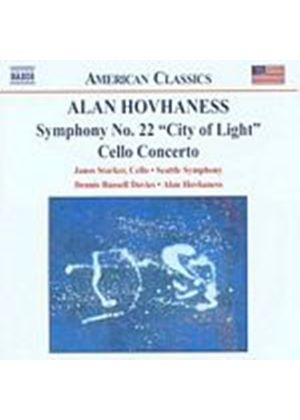 Alan Hovhaness - Symphony No. 22 City Of Light, Cello Concerto (Hovhaness) (Music CD)
