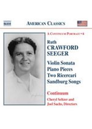 Ruth Crawford Seeger - Violin Sonata, Piano Pieces (Continuum) (Music CD)