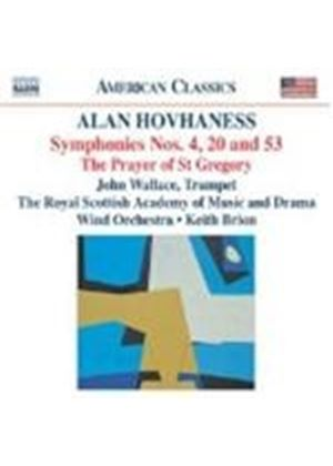 Hovhaness: Symphonies Nos 4, 20 and 53