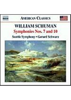 William Schuman - Symphonies Nos. 7 & 10 (Schwarz, Seattle SO) (Music CD)