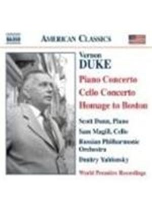 Duke: Piano Concerto; Cello Concerto