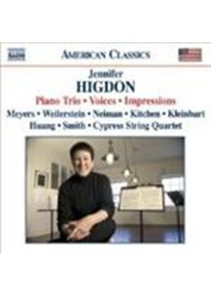 Higdon: Impressions; Piano Trio; Voices