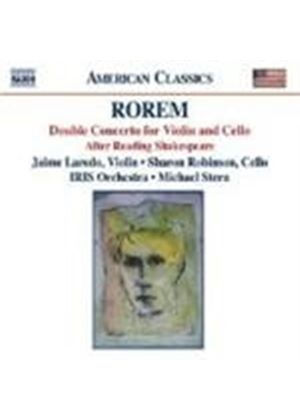 Rorem: Double Concerto. After Reading Shakespeare