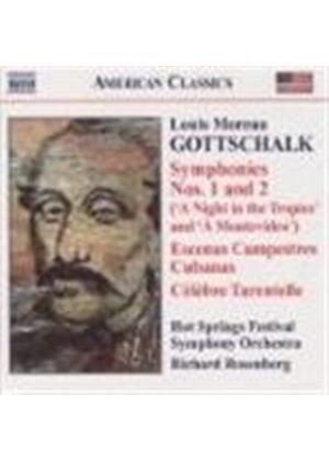Louis Moreau Gottschalk - Complete Works For Orchestra (Hot Springs Festival SO) (Music CD)