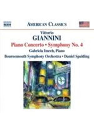 Giannini: Piano Concerto; Symphony No. 4 (Music CD)