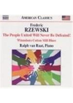 Frederic Rzewski - The People United Will Never Be Defeated (Van Raat) (Music CD)