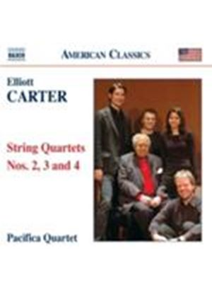 Carter: String Quartets Nos. 2, 3 & 4 (Music CD)