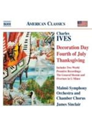 Ives: Holiday Symphonies I I, III and IV (Music CD)