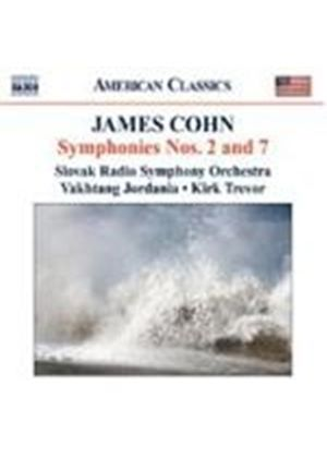 James Cohn - Symphonies Nos. 2 And 7 (Trevor, Slovak Radio SO)