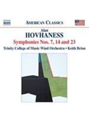 Hovhaness: Symphonies No.7, 14 & 23 (Music CD)