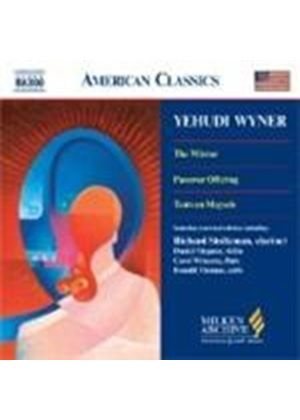 Wyner: (The) Mirror Suite; Passover Offering; Tants un Maysele
