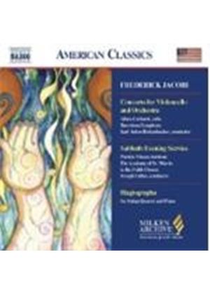 Jacobi: Cello Concerto; Sabbath Evening Service - excs