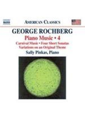 Rochberg: Piano Works, Vol 4 (Music CD)