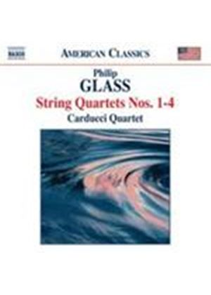 Glass: String Quartets Nos 1 - 4 (Music CD)