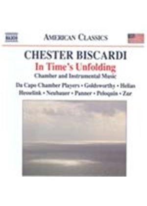 Chester Biscardi: In Time's Unfolding (Music CD)