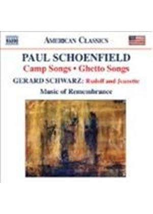 Schoenfield: Camp Songs (Music CD)
