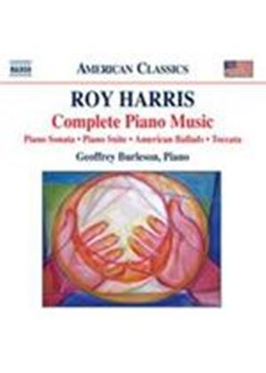 Harris: Complete Piano Music (Music CD)